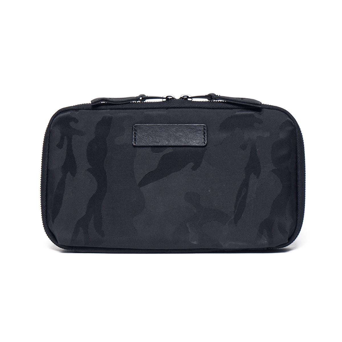 "KNOMO Knomad Travel Wallet Travel Organiser From Back 8"" -  Black Camouflage 