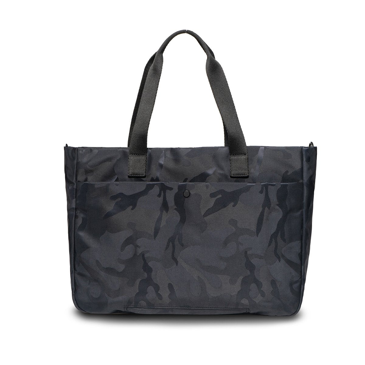 "KNOMO Cologne Tote From Back 14"" -  Black Camouflage 