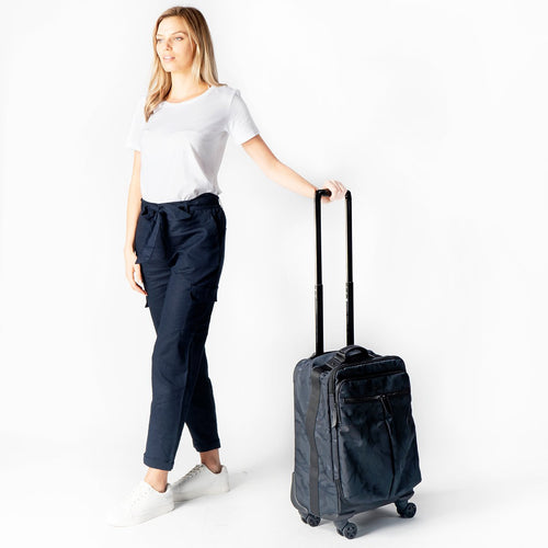 KNOMO Park Lane 4 Wheel Carry-on (Porto) Main Image | knomo.com