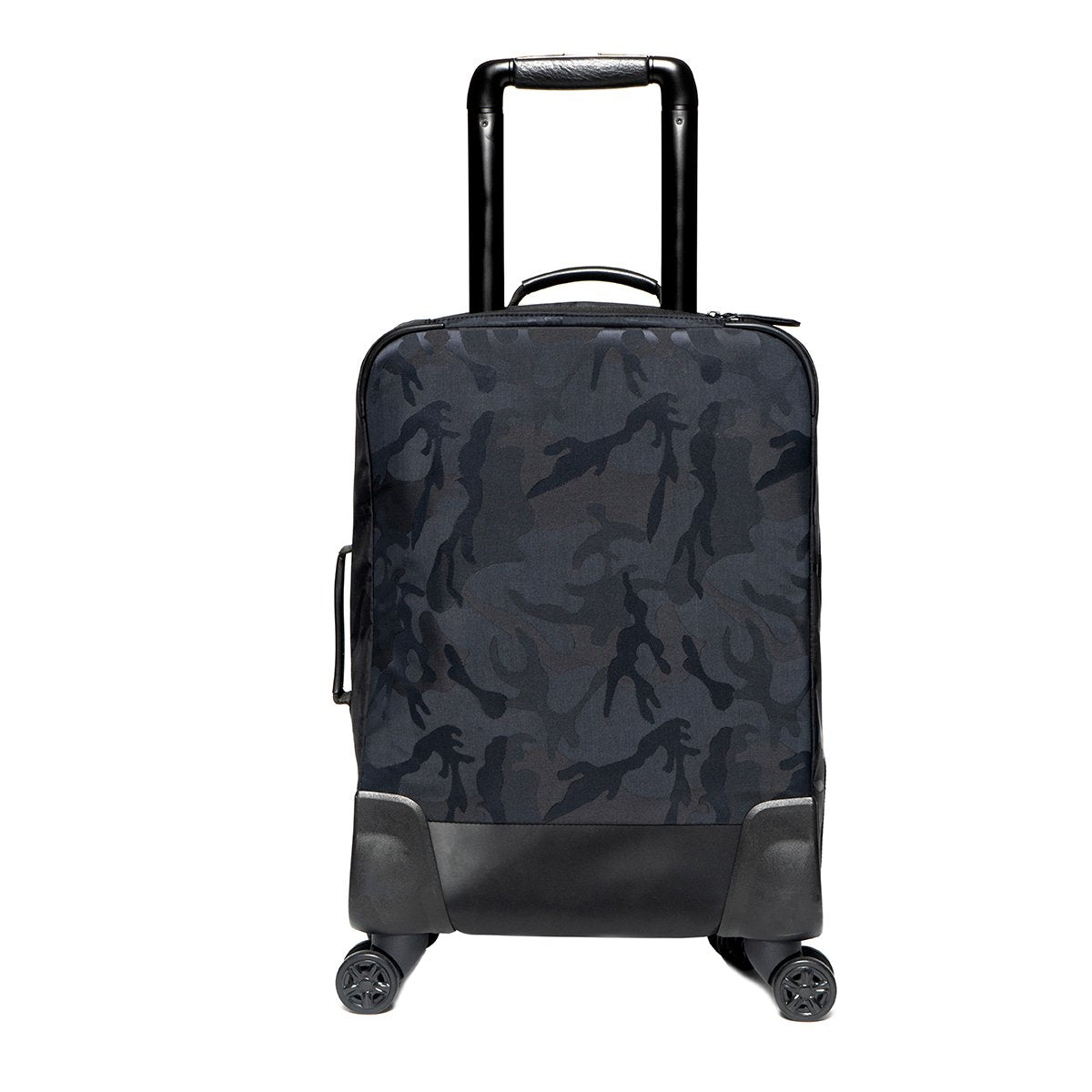 "KNOMO Park Lane Boarding Tote From Back 15"" -  Black Camouflage 