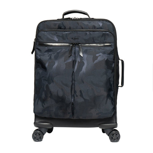 KNOMO Park Lane 4 Wheel Carry-on (Porto) From Front | knomo.com