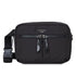 "KNOMO Palermo Ultra Lightweight X-Body From Front With Strap 10.5"" -  Black 