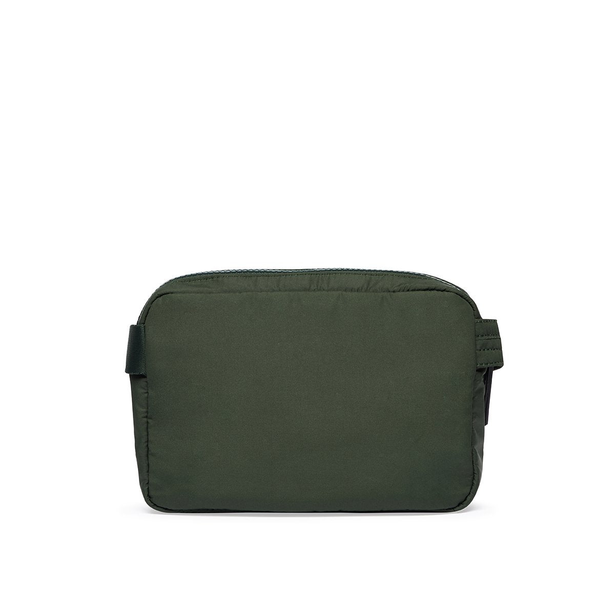 "KNOMO Palermo Ultra Lightweight X-Body From Back 10.5"" -  Bottle Green 