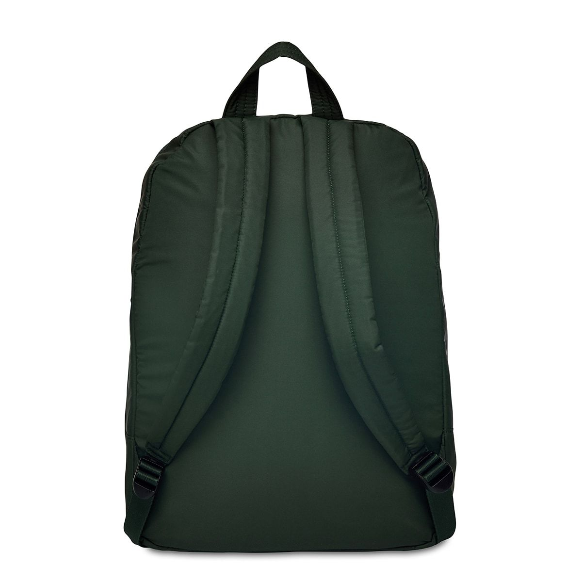"KNOMO Berlin Laptop Backpack From Back 15"" -  Bottle Green 