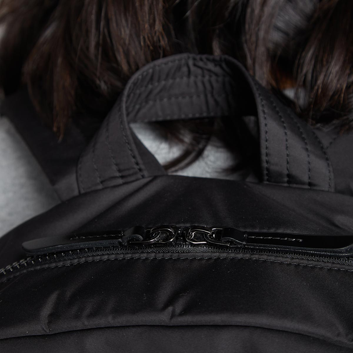 "KNOMO Berlin Laptop Backpack Zip Close Up 15"" -  Black 
