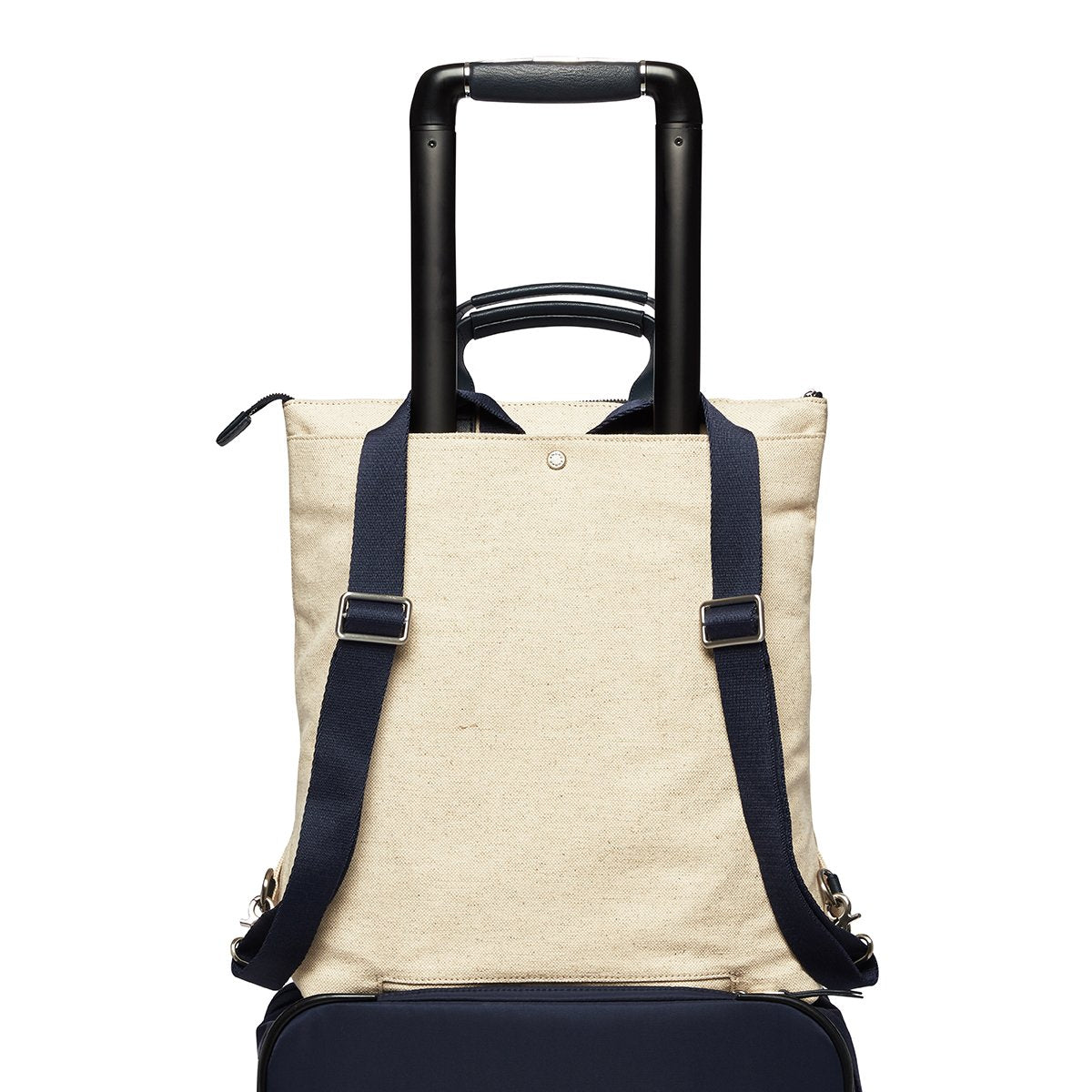 "KNOMO Harewood Totepack 15"" Trolley Sleeve View 15"" -  Natural 