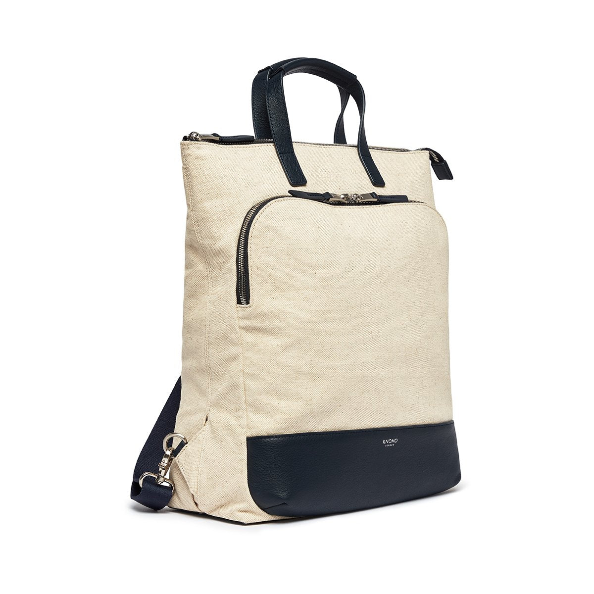 "KNOMO Harewood Totepack 15"" Three Quarter View 15"" -  Natural 