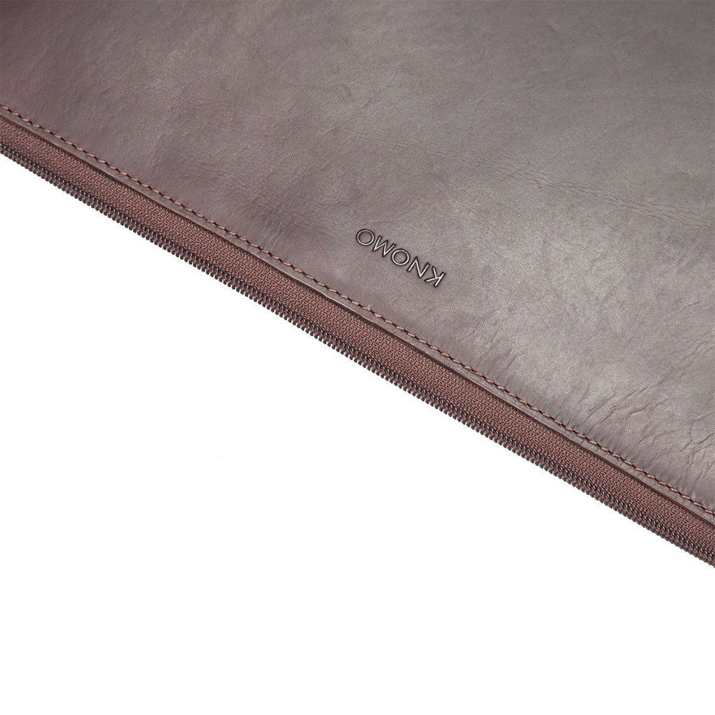 Leather Laptop Sleeve - 13""