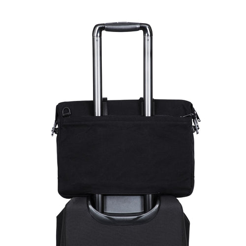 "Laptop Briefcase - 15"" (Wax Canvas) - Tournay 