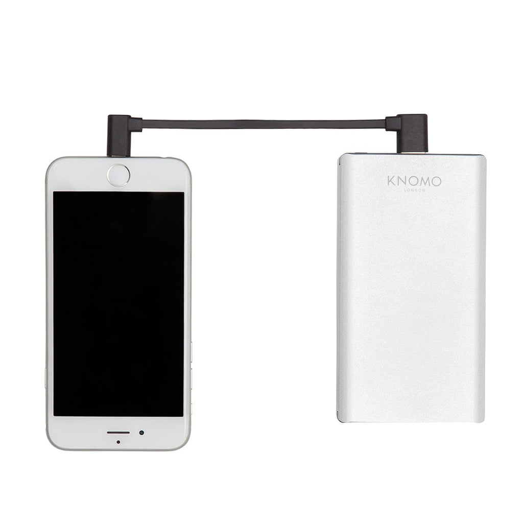 "KNOMO 6"" USB Lightning Charging Cable for iPhone and iPad"