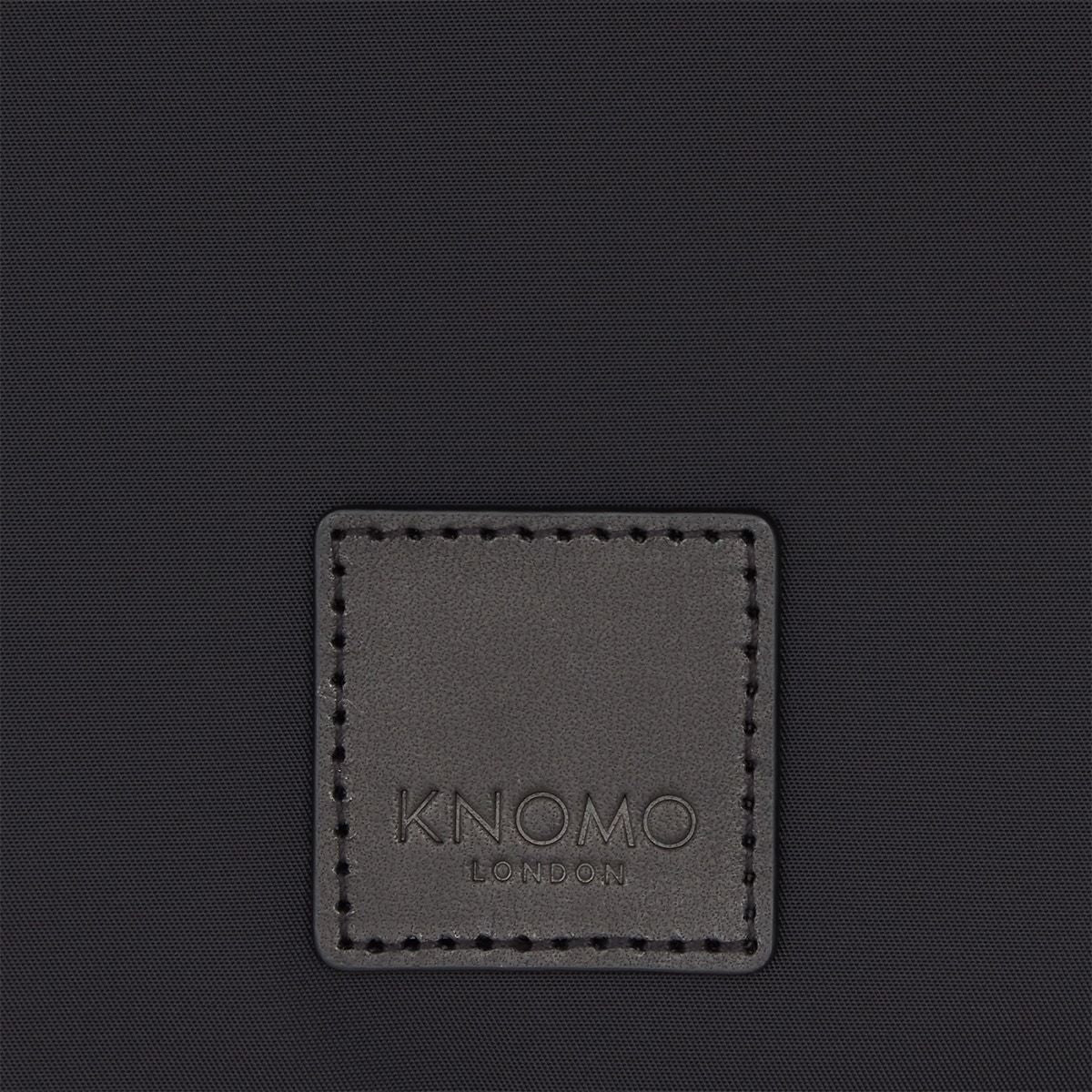 "KNOMO Fulham Knomad X-Body Organiser Tech Organiser From Back 10.5"" -  Black 