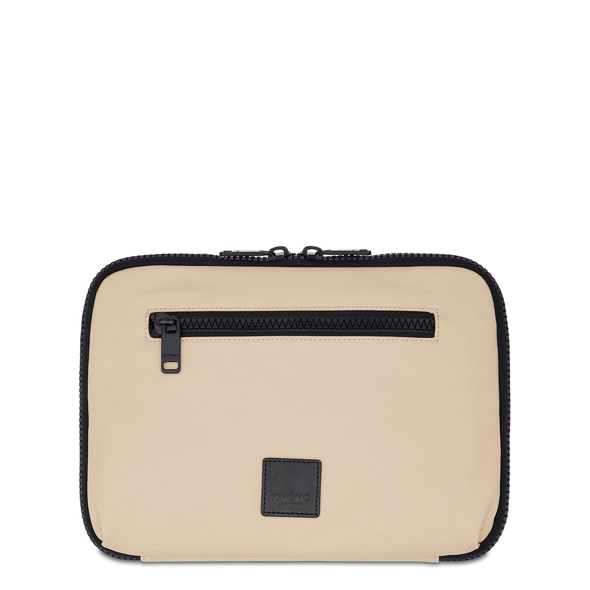 "KNOMO Fulham Knomad X-Body Organiser Tech Organiser From Front 10.5"" -  Trench Beige 