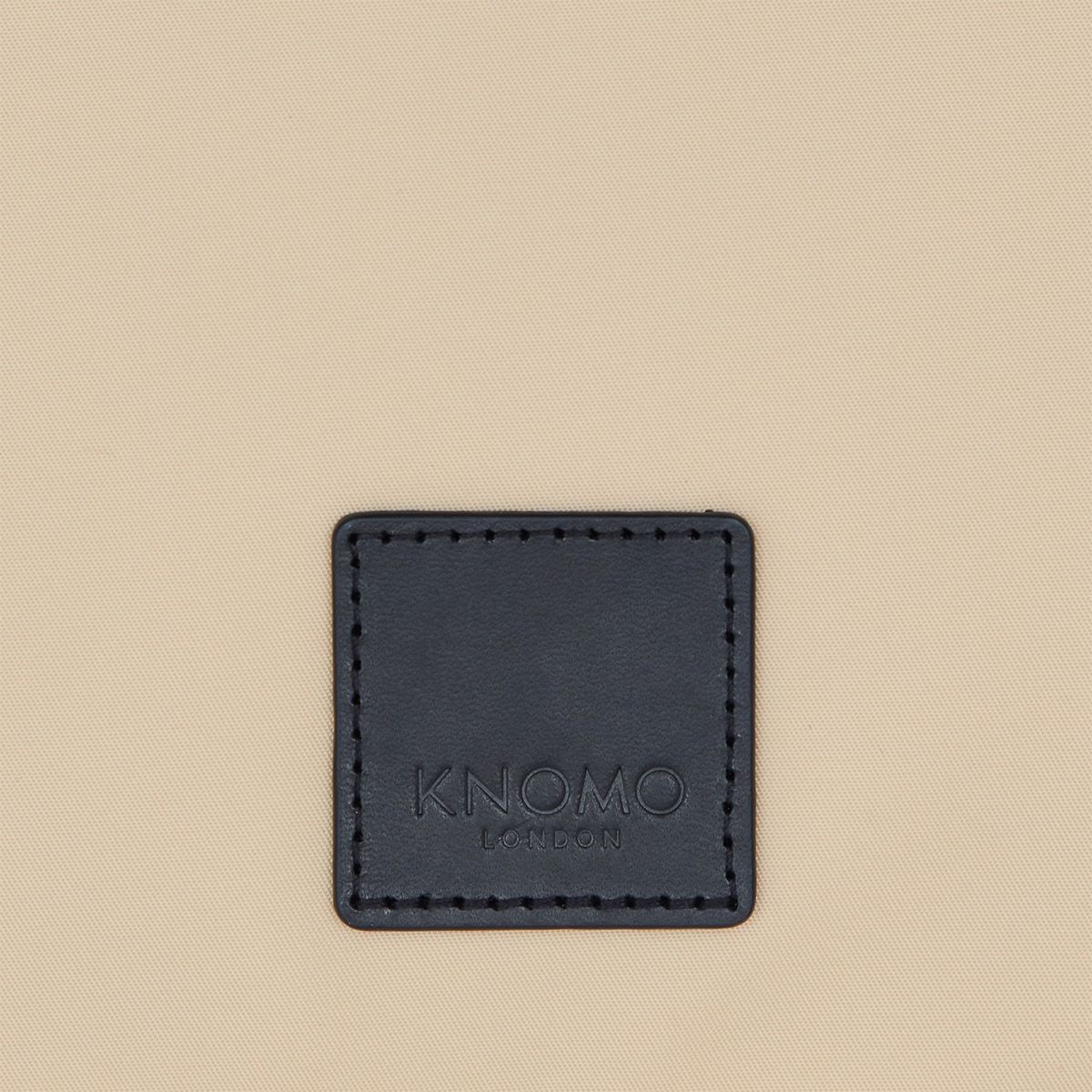 "KNOMO Fulham Knomad X-Body Organiser Tech Organiser Close Up Logo 10.5"" -  Trench Beige 