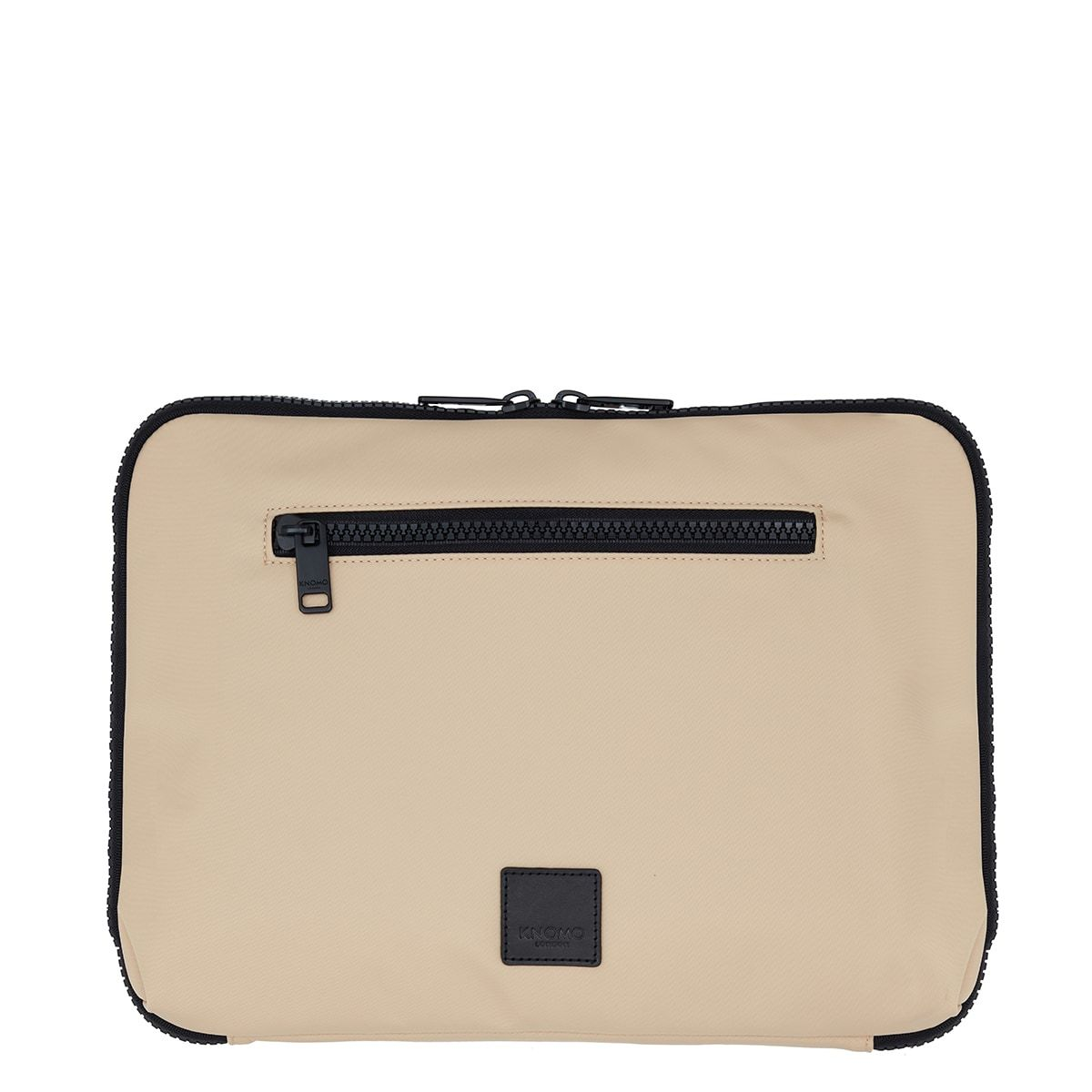 "KNOMO Fulham Knomad X-Body Organiser Tech Organiser From Front 13"" -  Trench Beige 