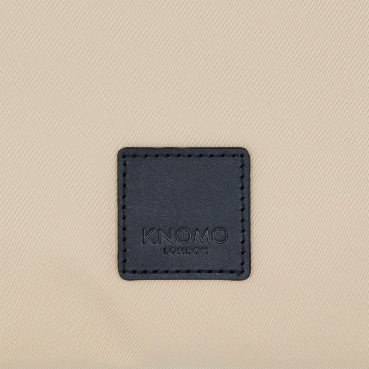 "KNOMO Fulham Knomad X-Body Organiser Tech Organiser Close Up Logo 13"" -  Trench Beige 