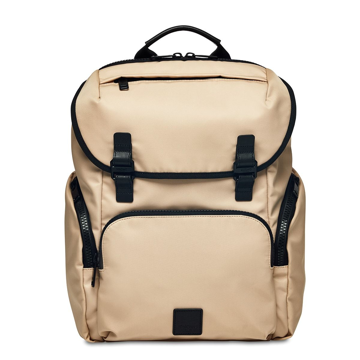 "KNOMO Thurloe Backpack From Front 15"" -  Trench Beige 