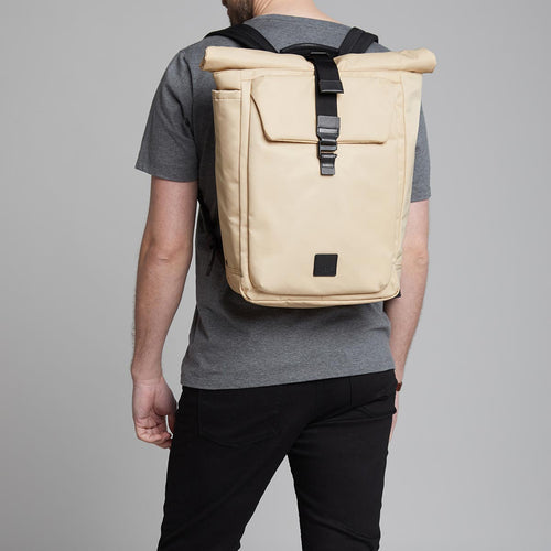 "KNOMO Novello Roll-Top Laptop Backpack - 15"" Main Image 