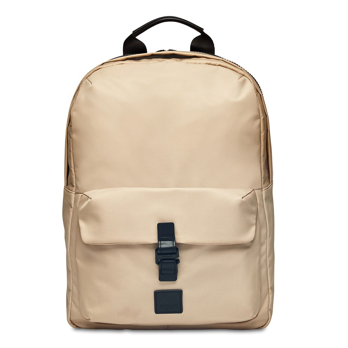 "KNOMO Christowe Backpack From Front 15"" -  Trench Beige 