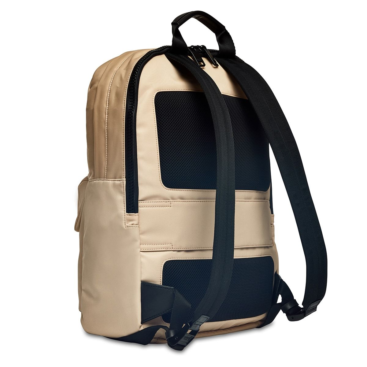 "KNOMO Christowe Backpack Three Quarter From Back 15"" -  Trench Beige 