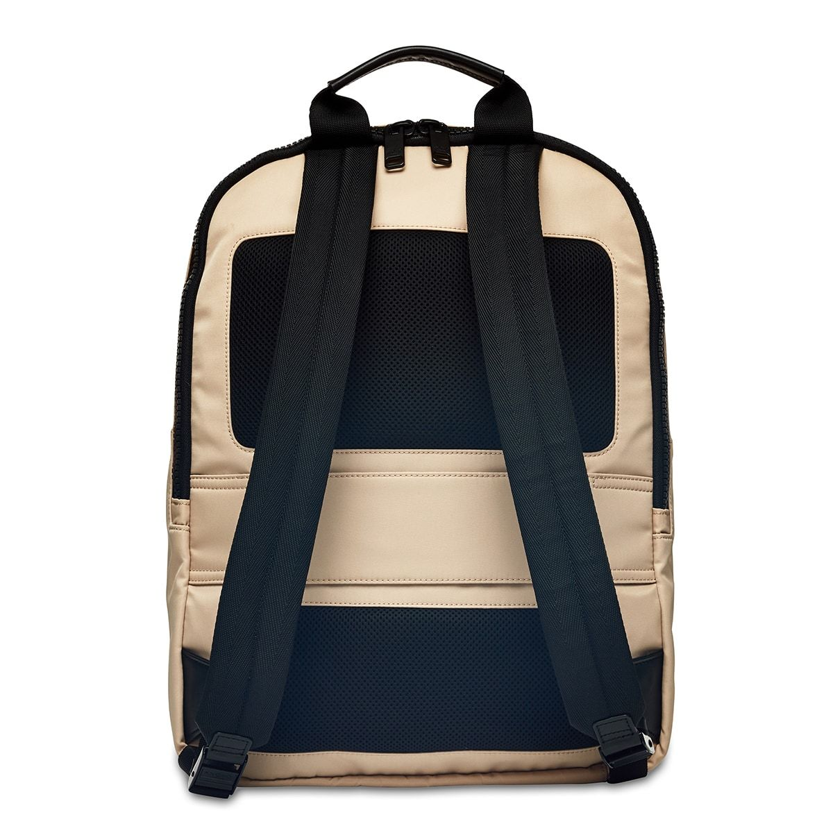 "KNOMO Christowe Backpack From Back 15"" -  Trench Beige 