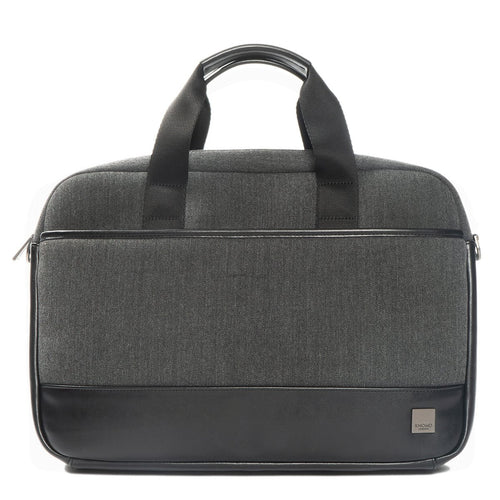 "KNOMO Princeton Laptop Briefcase - 15.6"" From Front 