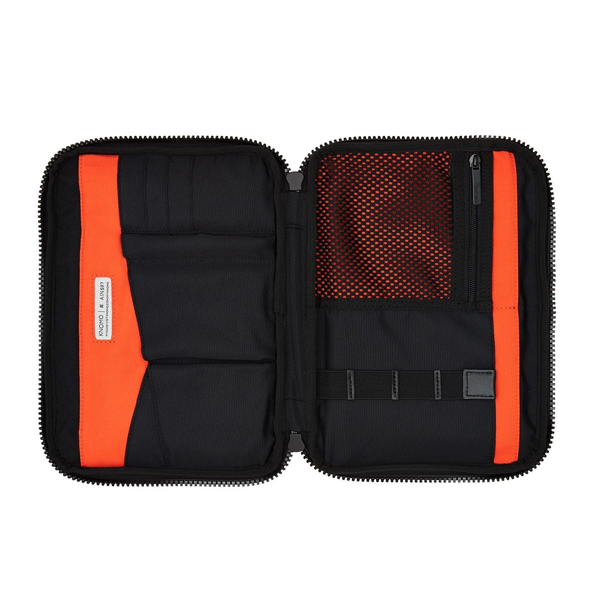 "KNOMO Thames Knomad Organiser Tech Organiser Internal View Empty 10.5"" -  Black 