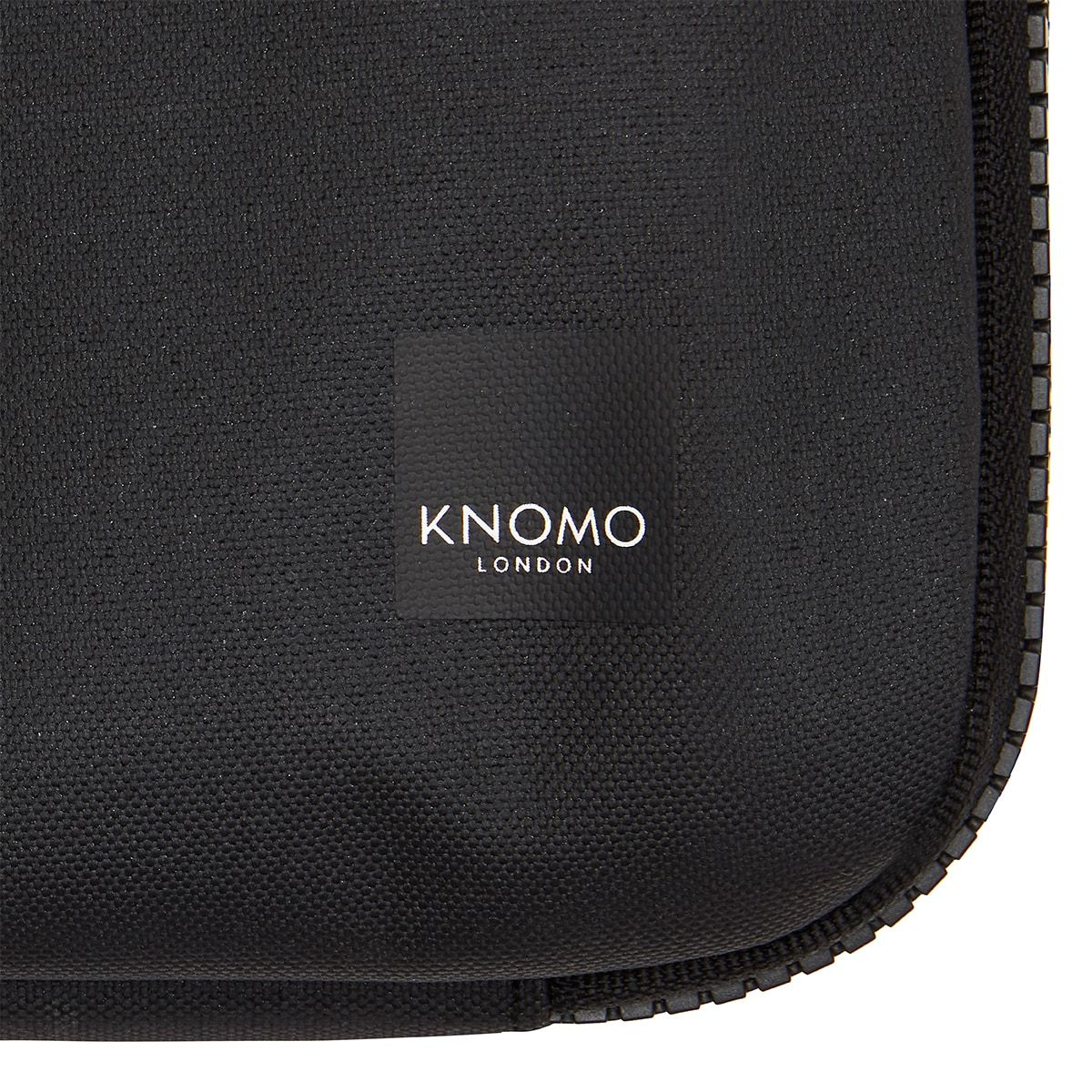 "KNOMO Thames Knomad Organiser Tech Organiser Close Up Logo 13"" -  Black 