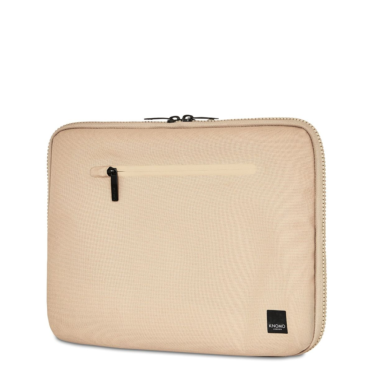 "KNOMO Thames Knomad Organiser Tech Organiser Three Quarter View With Strap 13"" -  Desert 