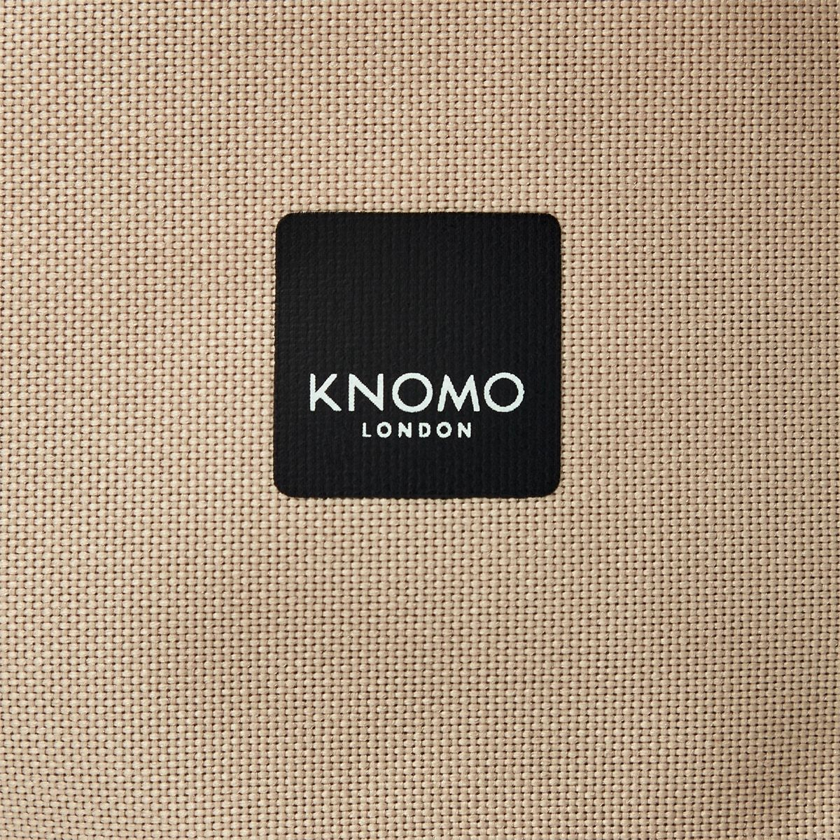 "KNOMO Cromwell Roll-Top Laptop Backpack Close Up Logo 14"" -  Desert 