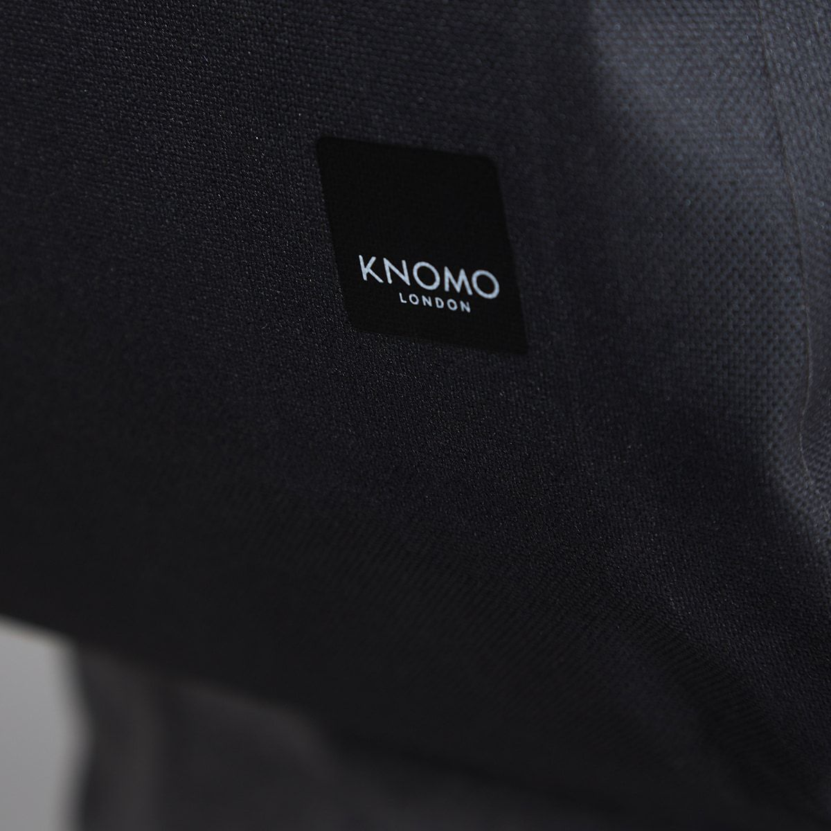 "KNOMO Harpsden Laptop Backpack Close Up Logo 14"" -  Black 