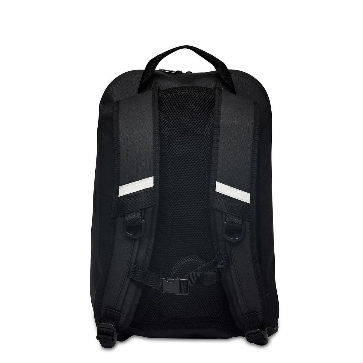 "KNOMO Harpsden Laptop Backpack From Back 14"" -  Black 