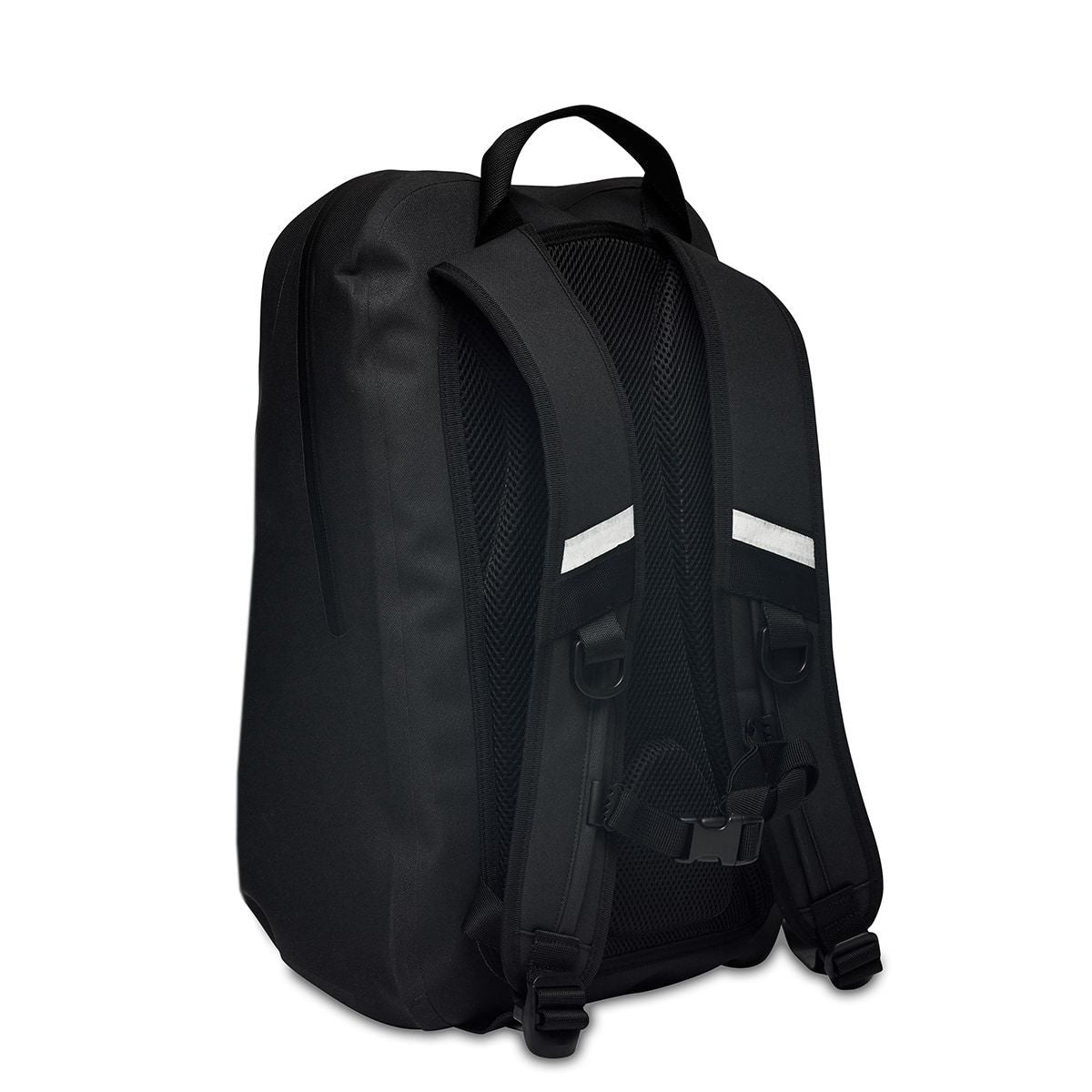 "KNOMO Harpsden Laptop Backpack Three Quarter View From Back 14"" -  Black 