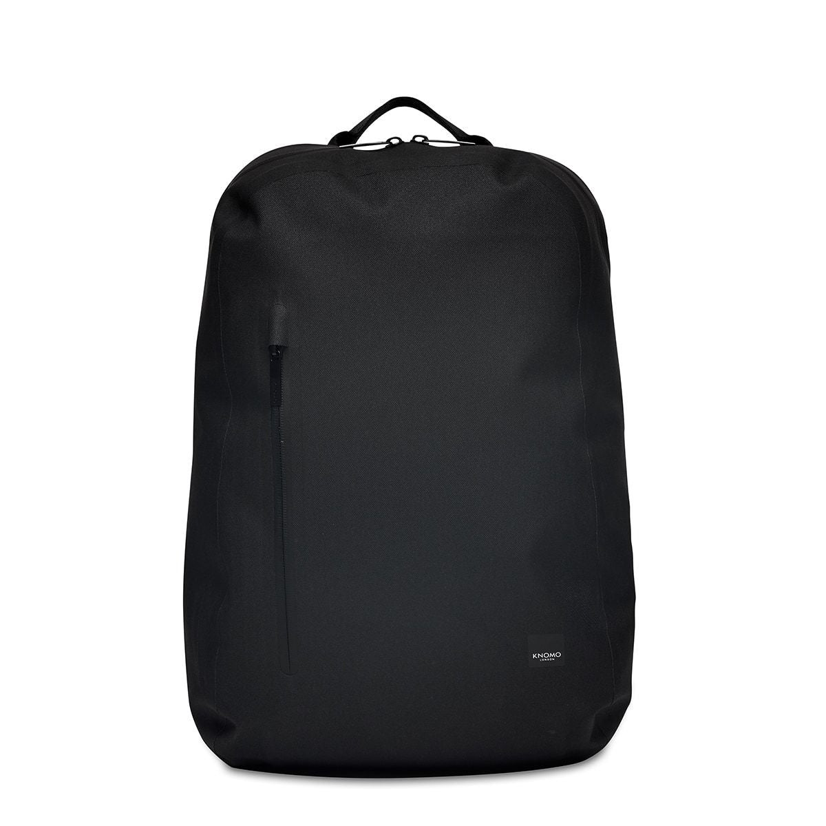 "KNOMO Harpsden Laptop Backpack From Front 14"" -  Black 
