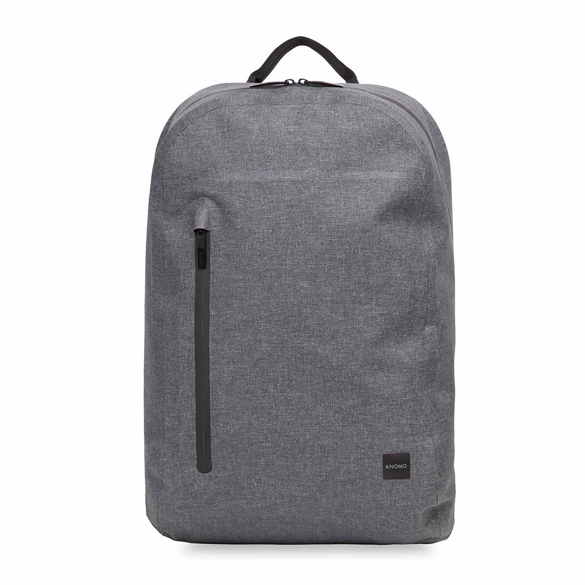 "KNOMO Harpsden Laptop Backpack From Front 14"" -  Grey 