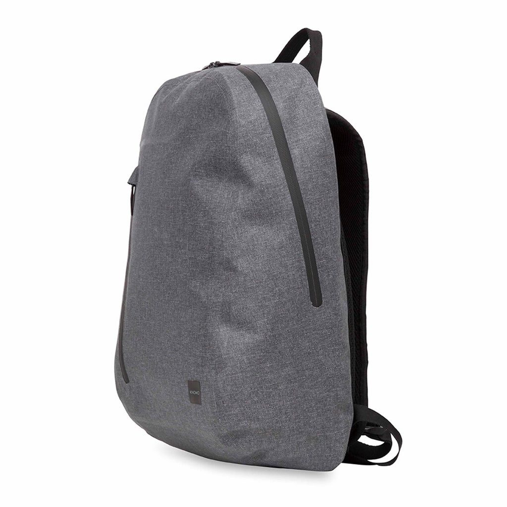 "Harpsden Mens 14"" Waterproof Laptop Backpack - Grey – KNOMO"