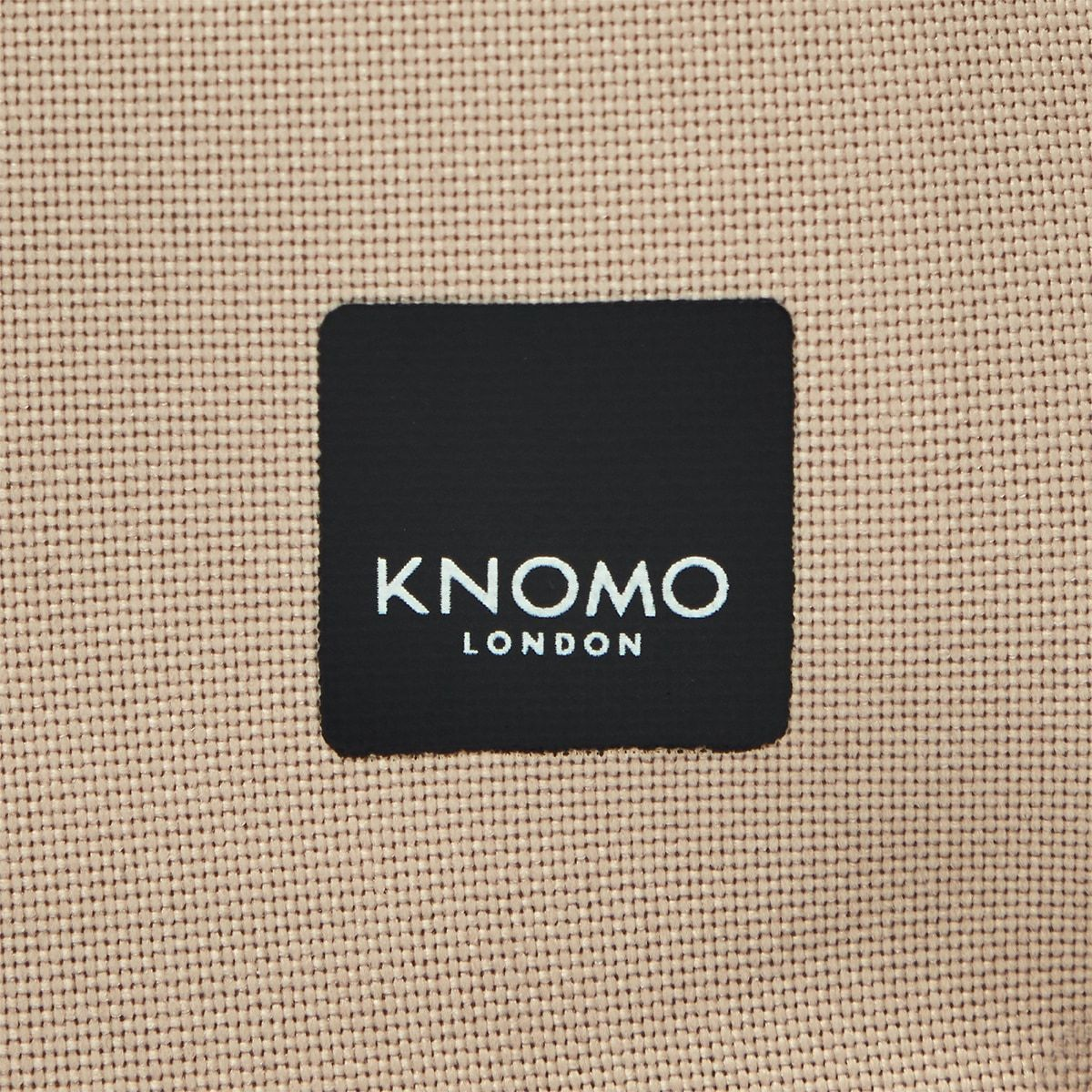 "KNOMO Kew Roll-Top Laptop Backpack Close Up Logo 15"" -  Desert 