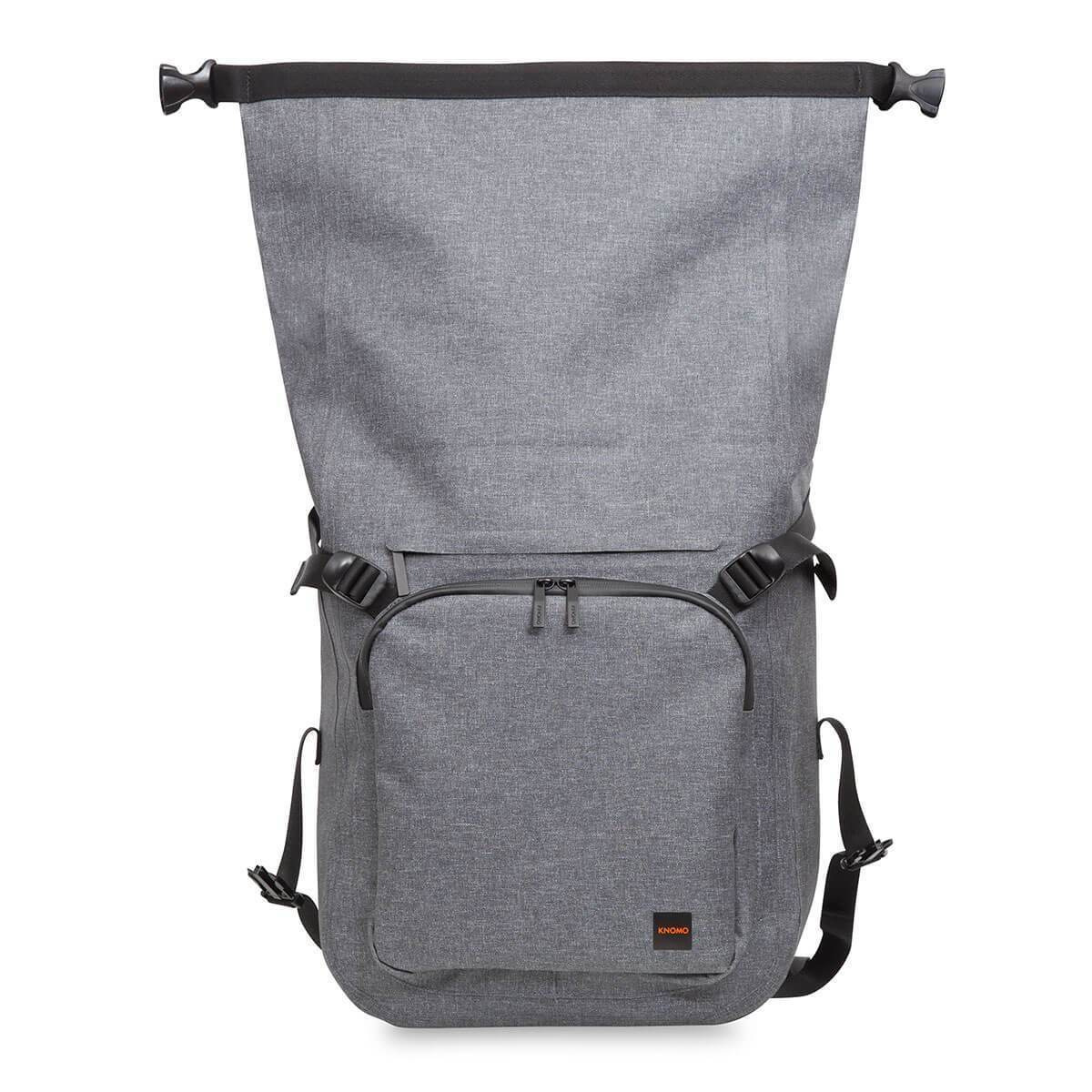 Water Resistant Roll-Top Laptop Backpack - 14""
