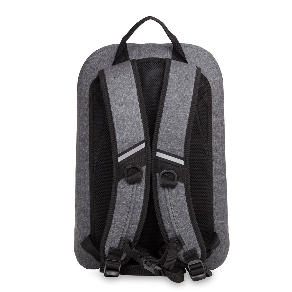 "KNOMO Harpsden Laptop Backpack From Back 14"" -  Grey 
