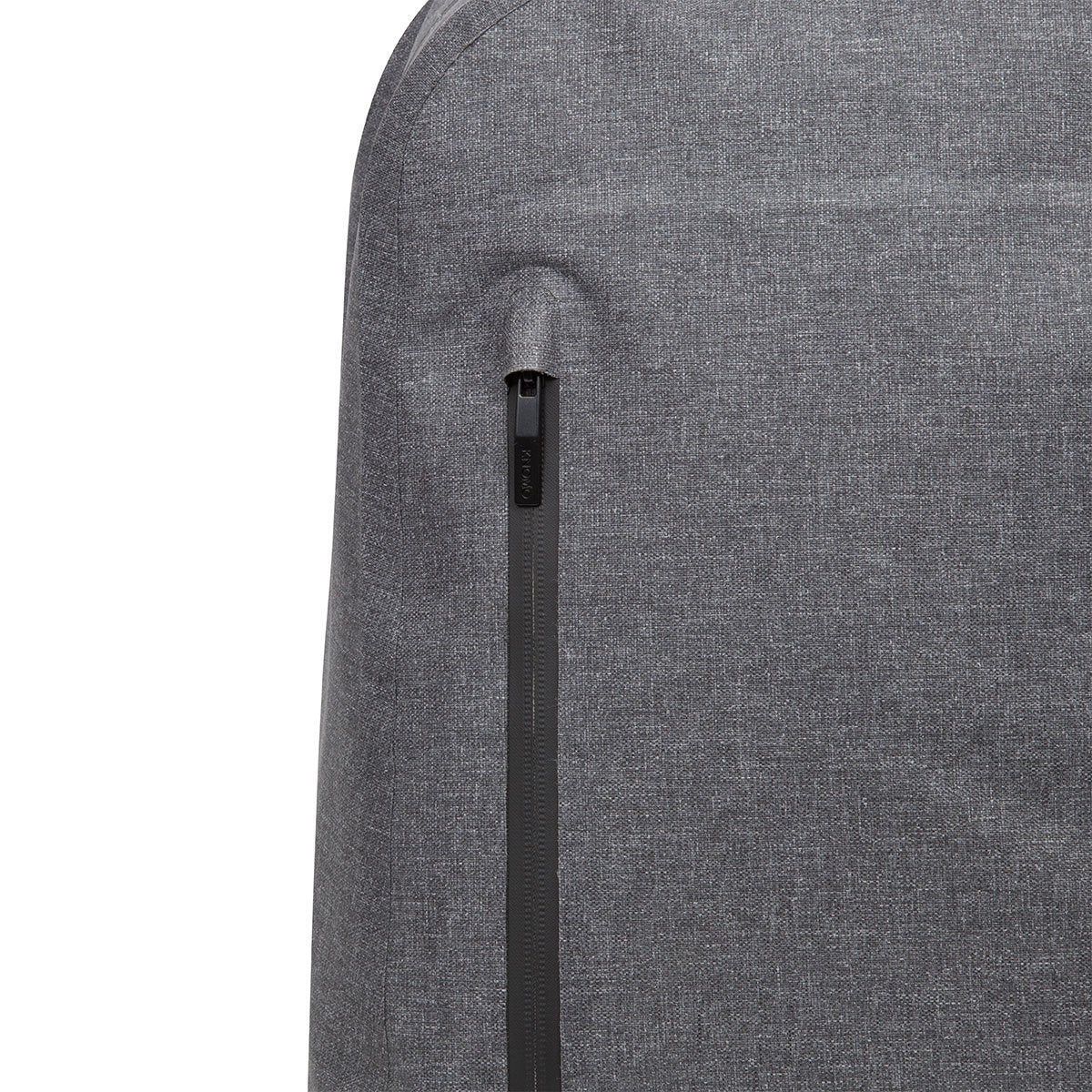 "KNOMO Harpsden Laptop Backpack Zip Close Up 14"" -  Grey 