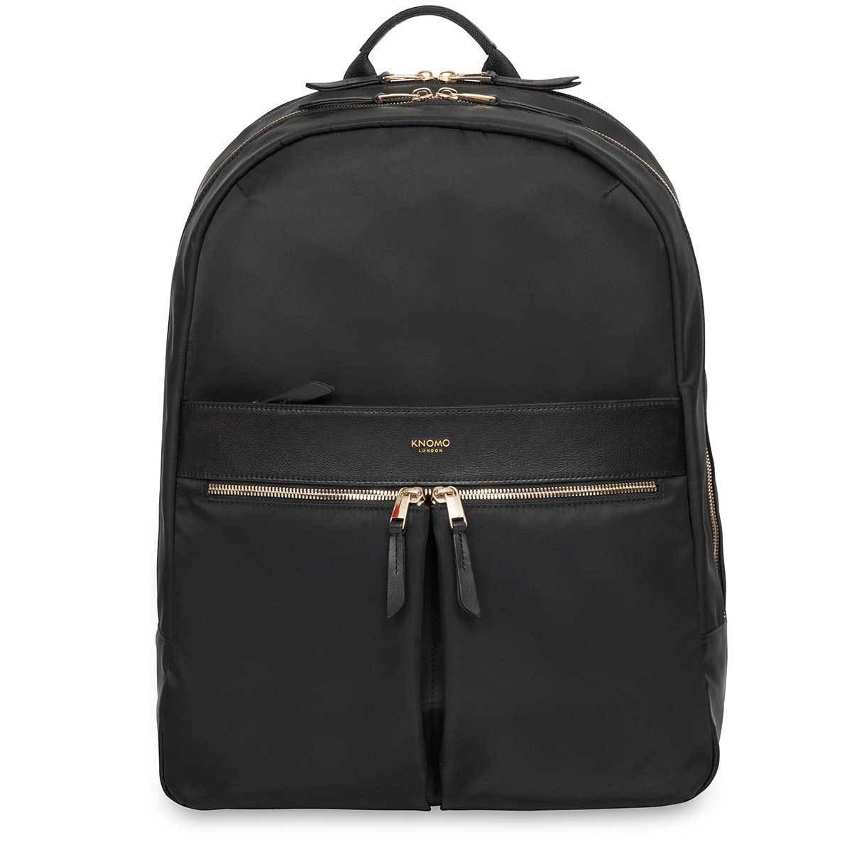 "Beaufort Women's 15"" Laptop Backpack - Black – KNOMO"