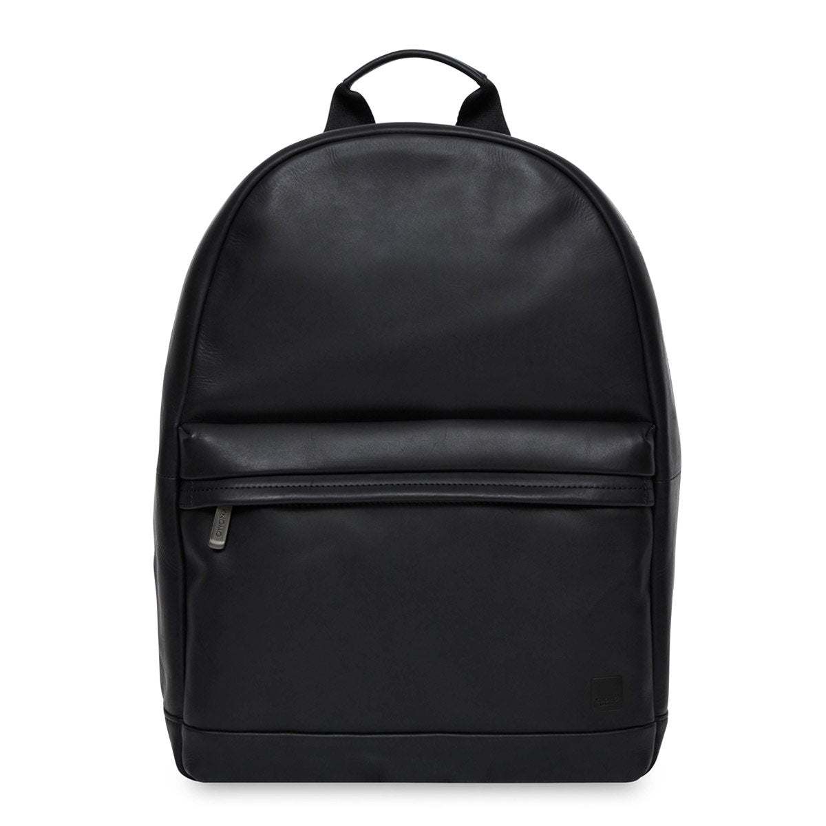 "Albion Leather Laptop Backpack - 15"" -  Black 