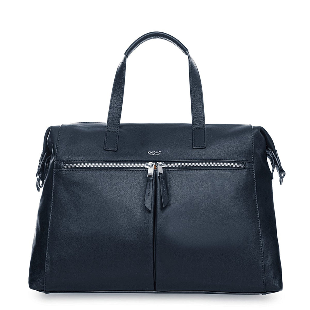 "Leather Laptop Handbag - 14"" – KNOMO"