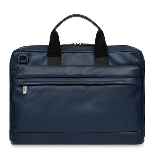 "Leather Laptop Briefcase 14"" - Foster 