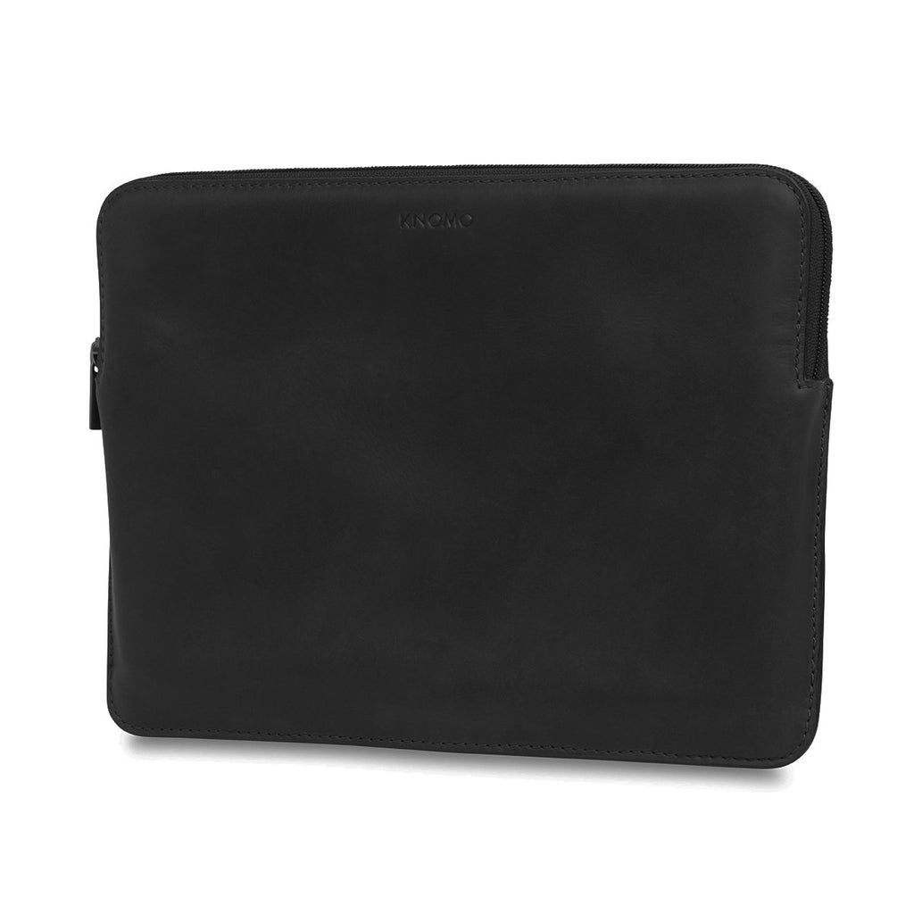 "Leather Laptop Sleeve - 12"" – KNOMO"