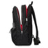 "KNOMO Beaufort Laptop Backpack From Side Opem 15.6"" -  Black 