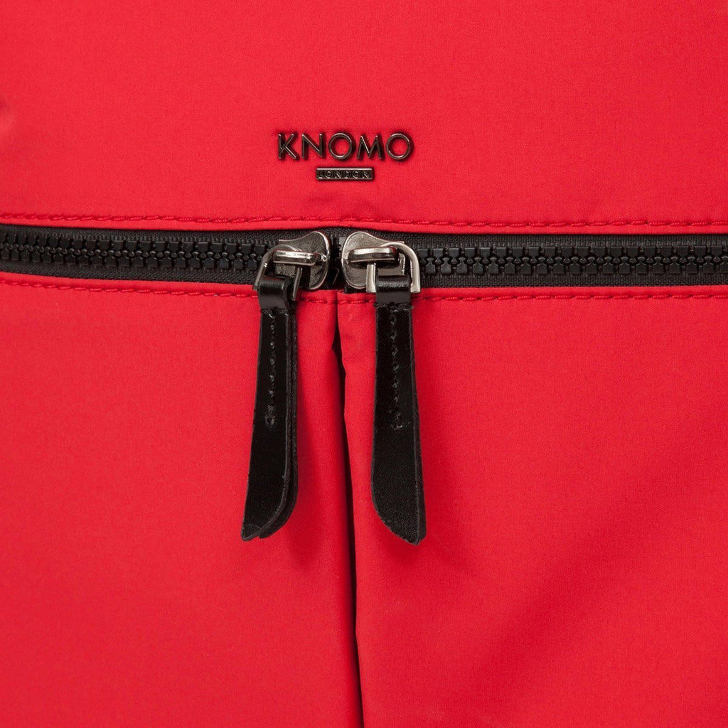 "Berlin Womens Slimline 15"" Laptop Backpack - Red – KNOMO"
