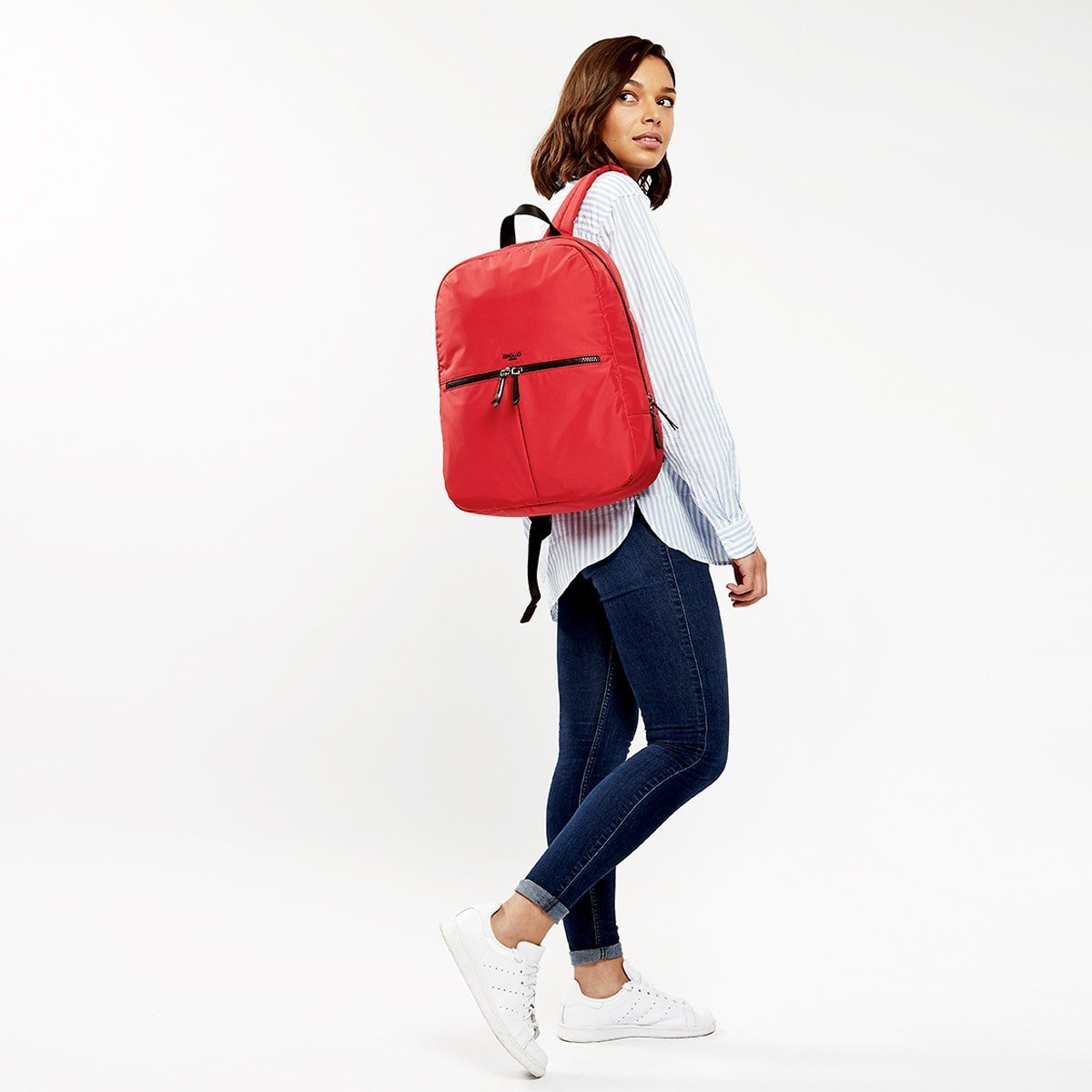 "Berlin Laptop Backpack - 15"" -  Red 