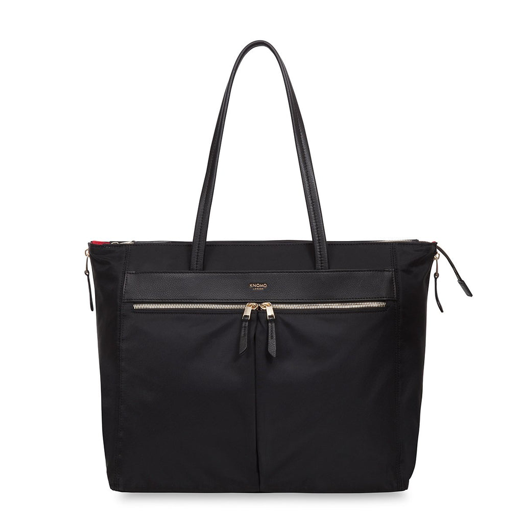 "Grosvenor Place 15"" Expandable Laptop Tote Bag - Black 