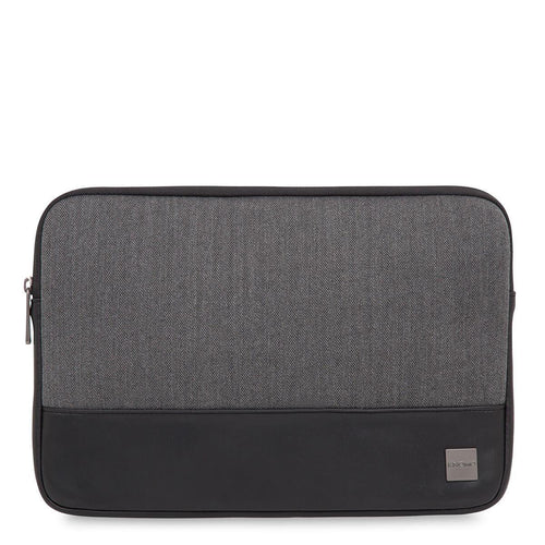 "KNOMO Herringbone Laptop Sleeve Herringbone Laptop Sleeve - 13"" From Front 