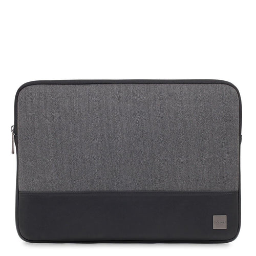 "KNOMO Herringbone Laptop Sleeve 14"" Herringbone Laptop Sleeve - 14"" From Front 